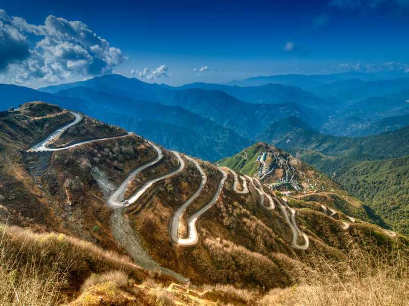 Seidenstrasse in China