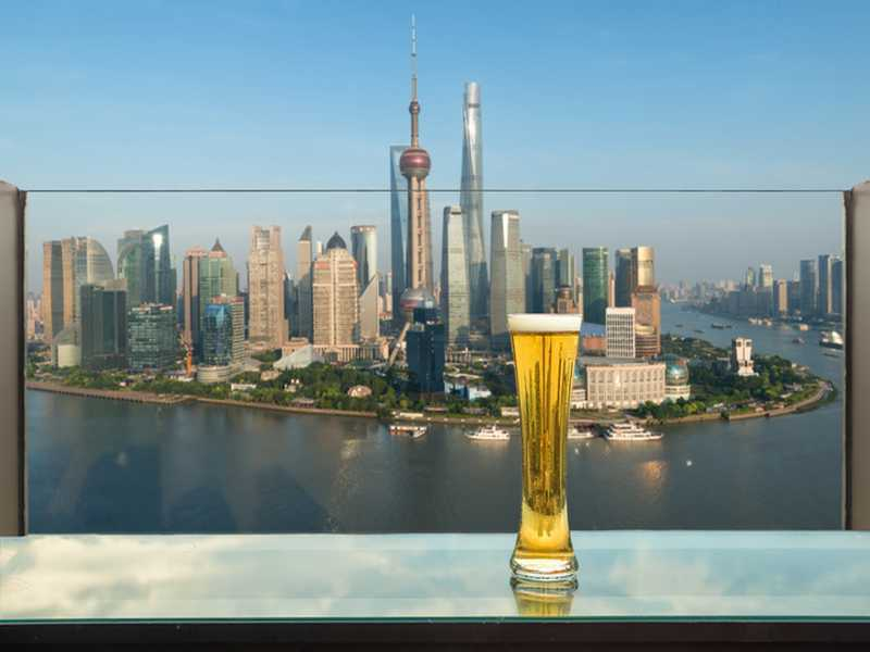 Rooftop Bar in Shanghai